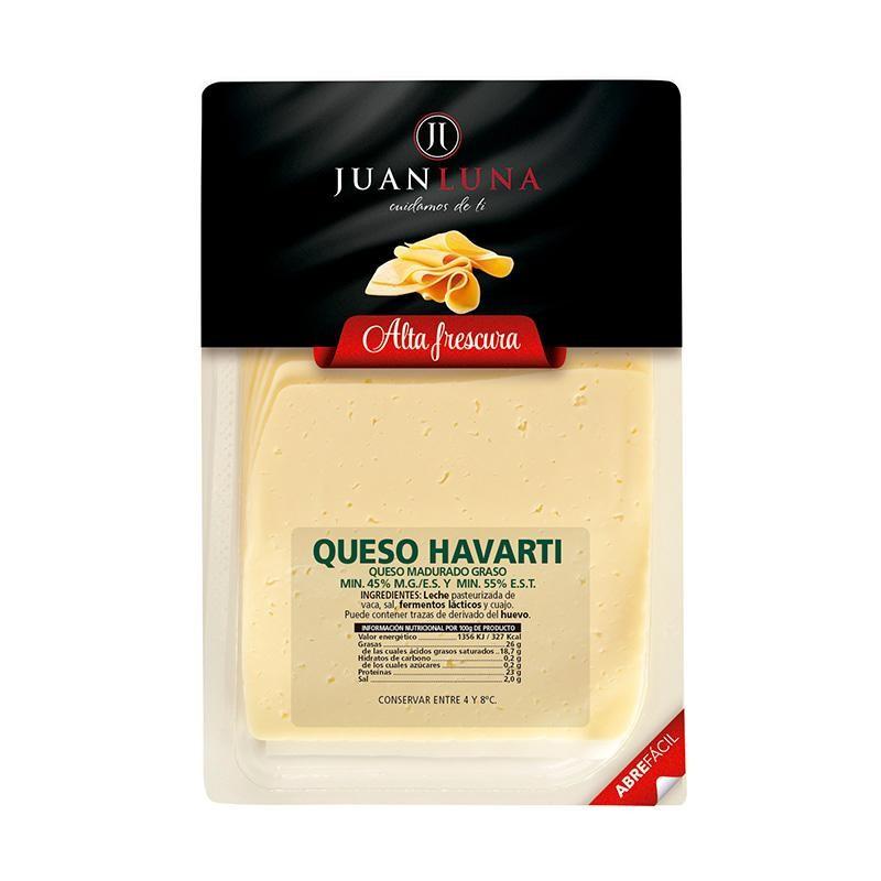 QUESO J.LUNA HAVARTI LONCHAS 75 GR