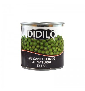 GUISANTES DIDILO FINOS NATURAL 400 GR