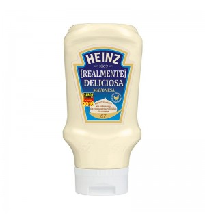MAYONESA HEINZ BOCABAJO PET. 400 ML