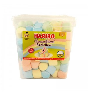 NUBES HARIBO HAMALOW RAINB.210UN 1.05 KG