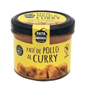 PATE PATA NEGRA POLLO CURRY BT.110 GR