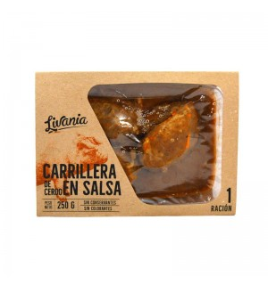 CARRILLERA CERDO LIVANIA SALSA 250 GR