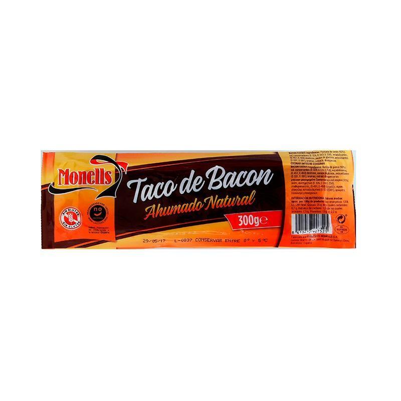 BACON MONELLS TACO 300 GR