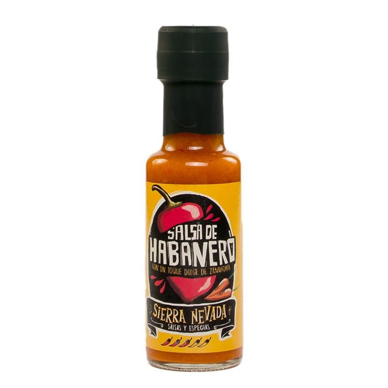 SALSA S.NEVADA HABANERO BT.125 ML