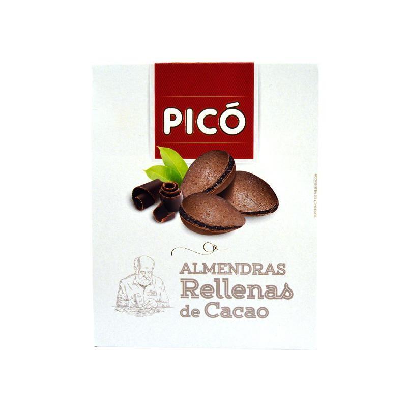 ALMENDRAS PICO RELLENAS CACAO150 GR