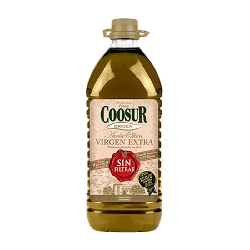ACEITE OLIVA COOSUR S/FILTRAR 3.75 L