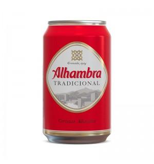 CERVEZA ALHAMBRA TRADICION LATA 33 CL