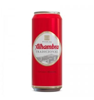 CERVEZA ALHAMBRA TRADICION LATA 50 CL
