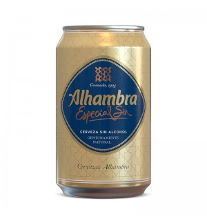 CERVEZA ALHAMBRA ESPECIAL SIN LT. 33 CL