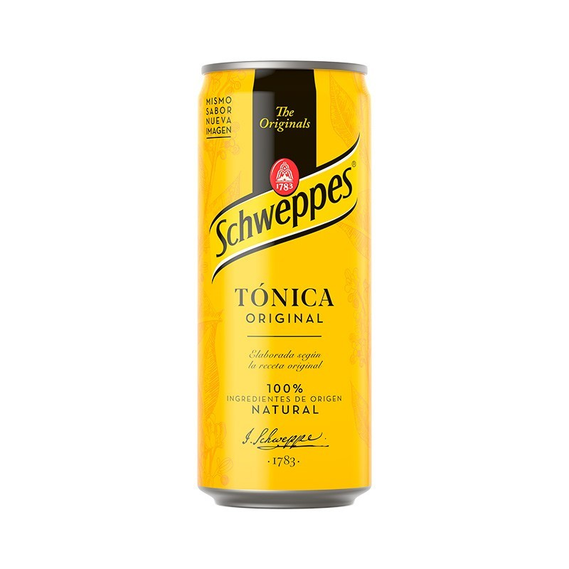 TONICA SCHWEPPES LATA 33 CL