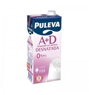 LECHE PULEVA DESNATADA A+D BK. 1 L