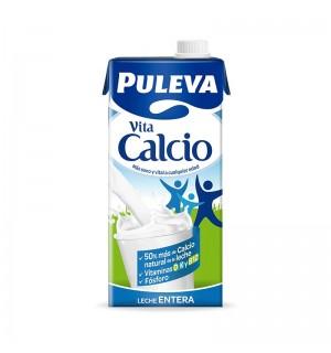 LECHE PULEVA ENTERA CALCIO BK. 1 L
