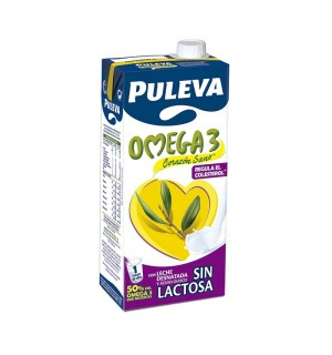 LECHE PULEVA OMEGA3 S/LACTOSA BK.1 L