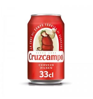CERVEZA CRUZCAMPO LATA 33 CL