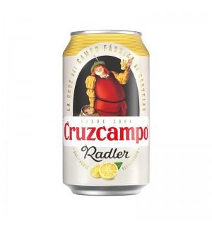 CERVEZA CRUZCAMPO RADLER LIMON LT. 33 CL