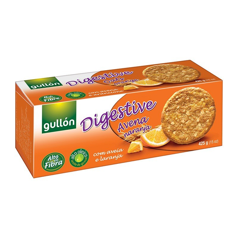 GALLETAS GULLON DIGEST. AVENA/NRJA.425GR