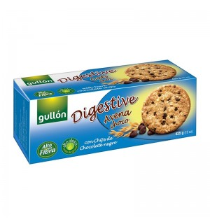 GALLETAS GULLON DIGEST. AVENA/CHOC. 425G