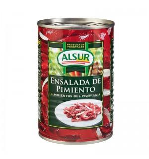 ENSALADA ALSUR PIMIENTOS PIQ. LT. 420 GR
