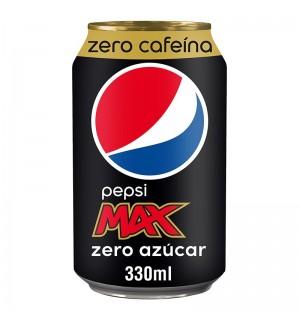 PEPSI MAX ZERO S/CAFEINA LATA 33 CL