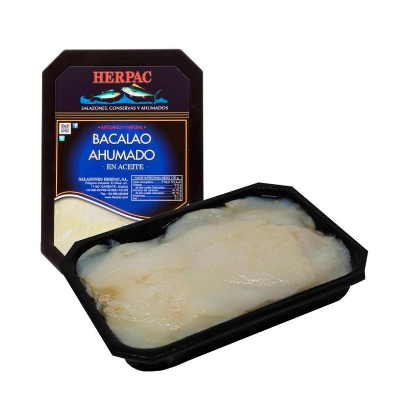 BACALAO HERPAC AHUMADO A.VEG. 250 GR