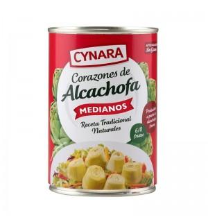 ALCACHOFAS CYNARA CORAZ.MDN.6/8 LT.400GR