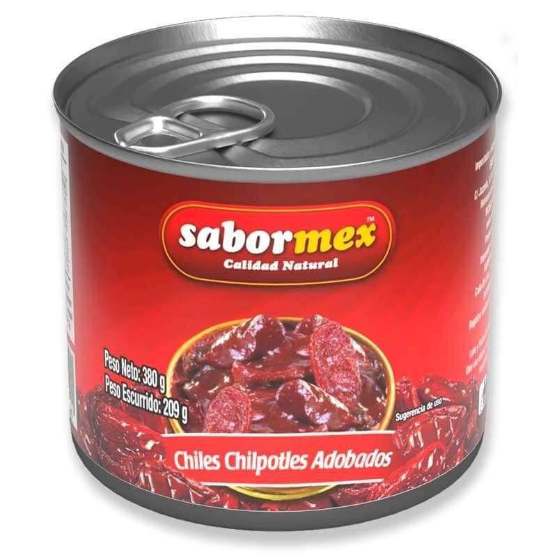 CHILE SABORMEX CHIPOTLE ADOBADO LT 215GR