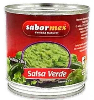 SALSA MEXICANA SABORMEX VERDE LT 215 GR