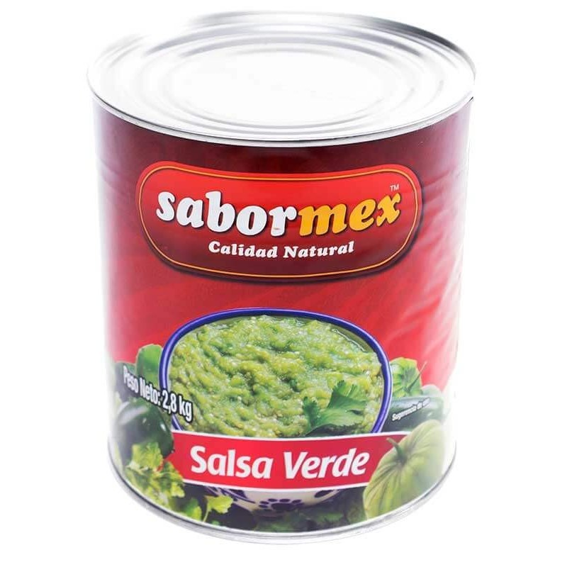 SALSA MEXICANA SABORMEX VERDE LT 2,8 Kg