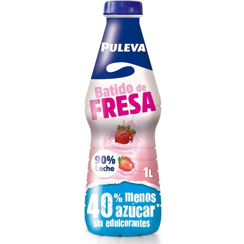 BATIDO PULEVA FRESA PET 1 L