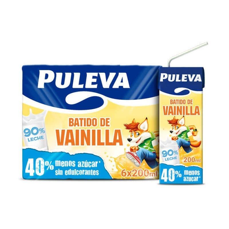 BATIDO PULEVA VAINILLA BK. 20 CL PK-6