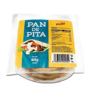 PAN PITA MELS 6 UN 400 GR