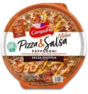 PIZZA & SALSA CAMPOF. PEPPERONI 345 GR