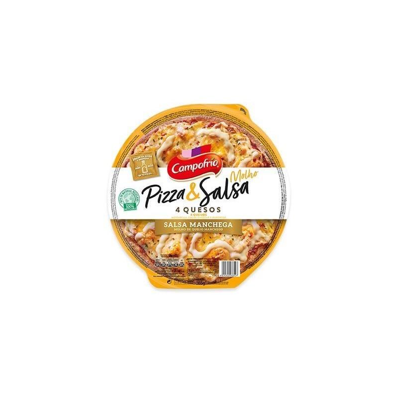 PIZZA & SALSA CAMPOF. 4 QUESOS FINA 365G